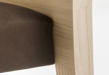 Scaune lemn sezut tapitat GLAM 4312