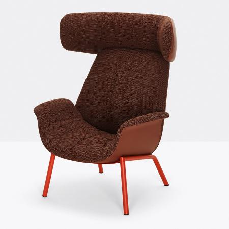 Fotoliu lounge tapitat ILA 20220