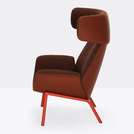 Fotoliu lounge tapitat ILA 20222