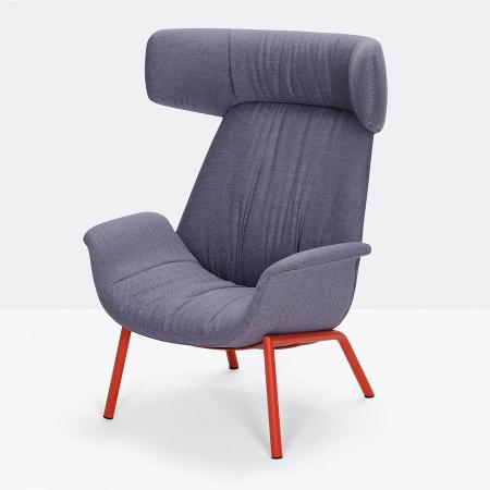 Fotoliu lounge tapitat ILA 20225