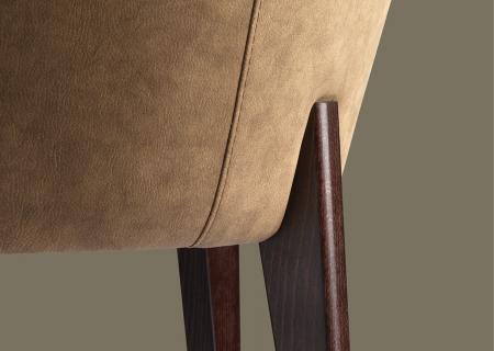 Fotolii moderne tapitate cadru lemn KYK 5422