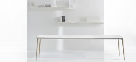 Mese extensibila picioare lemn frasin design scandinav MALMO TML9