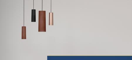 Lampa suspendata cu abajur din policarbonat L006SW/B3
