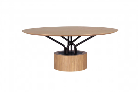 Mese lemn structura metalica WOOD-OO 0013