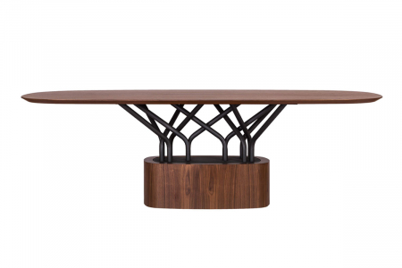 Mese lemn structura metalica WOOD-OO 0011