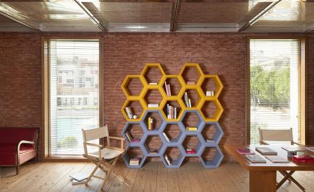 Biblioteci modulare polietilena HEXA [1]