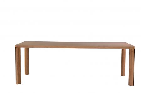Mese din lemn masiv cu detaliu metalic KA-BERA 001 A [0]