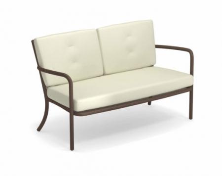 Canapele exterior 2 locuri cadru metal cu perne tapitate ATHENA0