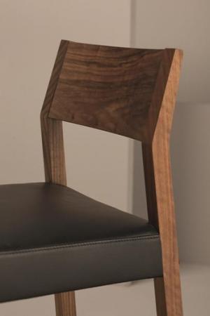 Scaun bar tapitat structura lemn fag Linea 1001 SG2