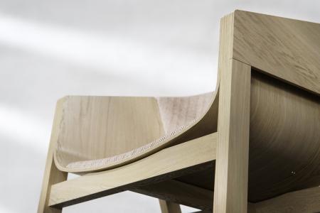 Fotolii lemn sezut si spatar tapitate MERANO [4]