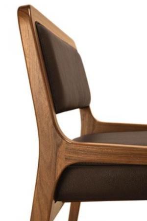 Scaun tapitat structura lemn stejar Fuji 2004 SE Rovere [1]