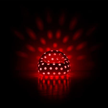 Fotoliu luminos din plastic AIRBALL LIGHT [5]
