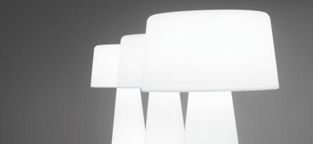 Lampa de podea din polietilena TIME OUT1