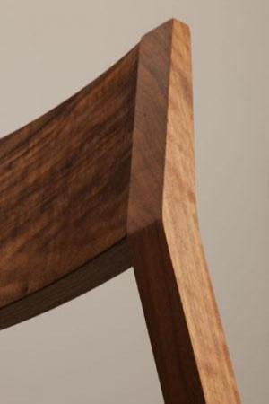 Scaun bar tapitat structura lemn fag Linea 1001 SG5