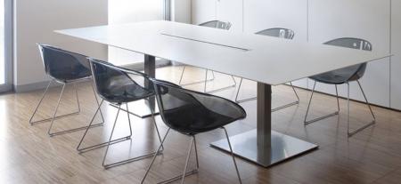 Mese conferinta office birou cu blat rectangular PLANO 44910