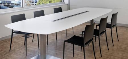 Mese conferinta office birou cu blat oval PLANO 4431 [0]