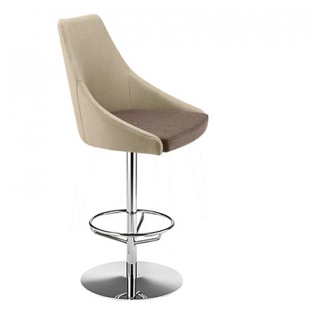 Scaune rotative inalte de bar picior metalic KONTEA 3100