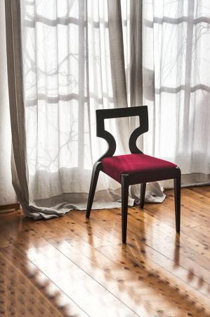 Scaun lemn fag cu sezut tapitat Sendy 152 1 SE1