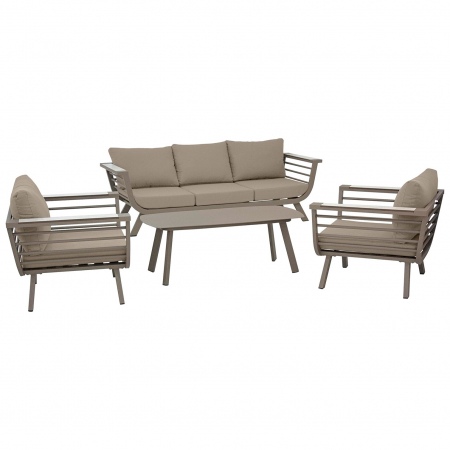 Set terasa outdoor canapea fotolii si masa structura aluminiu SET1632 [1]