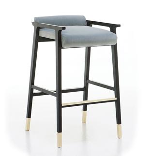 Scaun bar structura lemn Tenues 2303 SG5