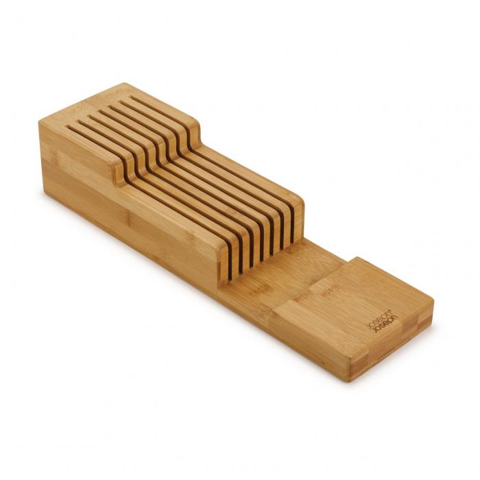 Organizator Cutite din bambus - Joseph&Joseph 0
