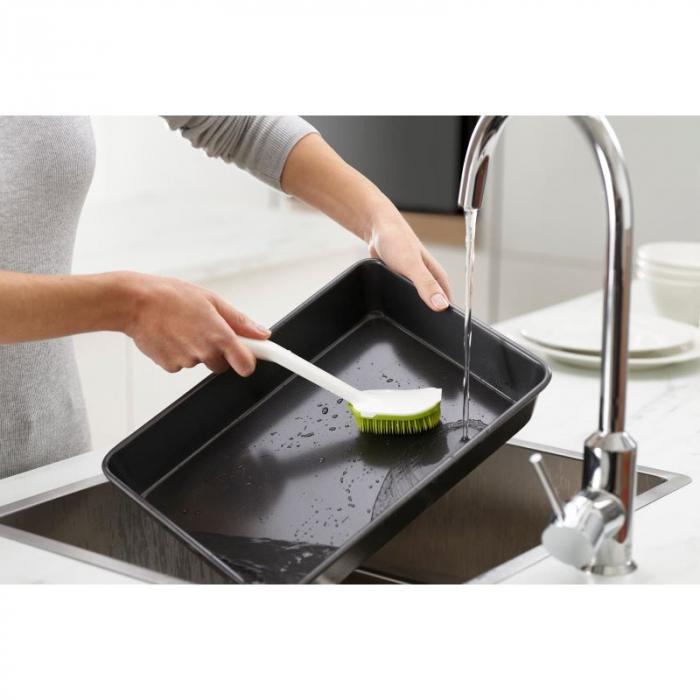 Burete Vase&Burete Maner Cleantech Alb/Verde - Joseph&Joseph 1