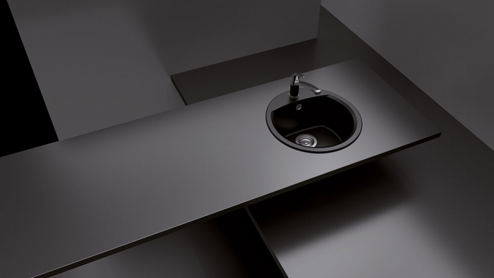 Chiuveta Granit Schock Manhattan R-100 Beton Cristalite 470 x 490 mm [2]