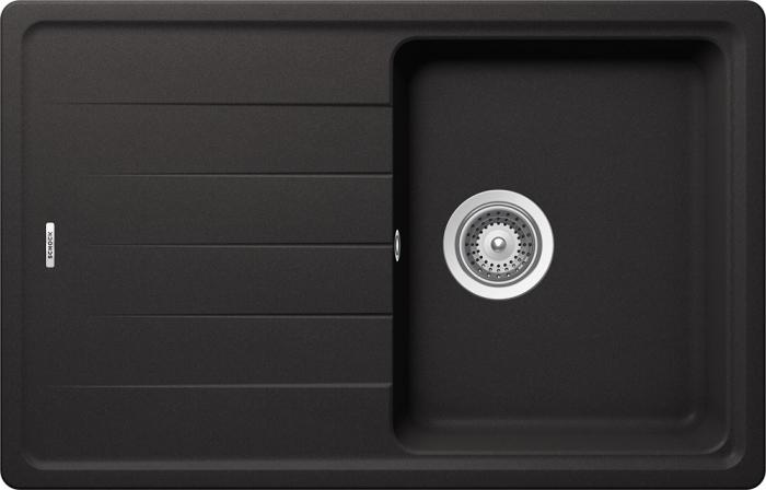 Chiuveta Granit Schock Element D-100S Nero Cristalite 780 x 500 mm 0