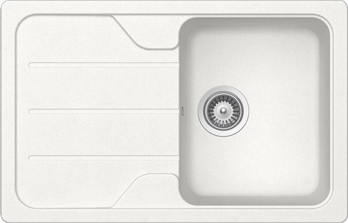 Chiuveta Granit Schock Formhaus D-100S Alpina Cristalite 780 x 500 mm [0]