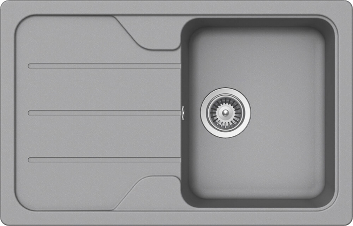 Chiuveta Granit Schock Formhaus D-100S Croma Cristalite 780 x 500 mm [0]