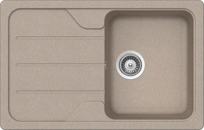 Chiuveta Granit Schock Formhaus D-100S Sabbia Cristalite 780 x 500 mm [0]