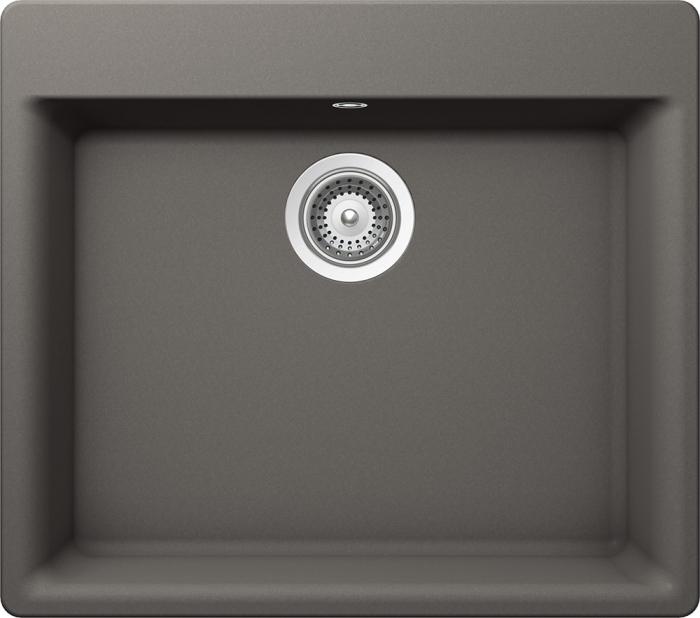 Chiuveta Granit Schock Galaxy N-100 Silverstone Cristadur 600 x 530 mm 0