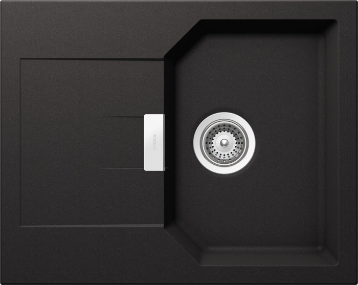 Chiuveta Granit Schock Manhattan D-100XS Nero Cristalite 640 x 510 mm [0]