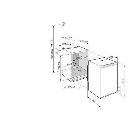IG 1024 Comfort Congelator încorporabil cu SmartFrost [5]
