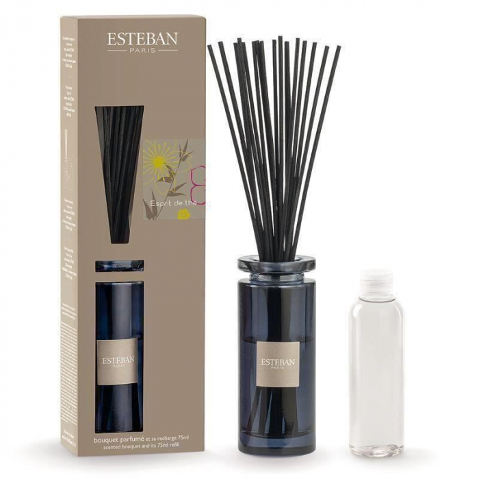 Difuzor Parfum Esprit de The&Rezerva 75ml - Esteban Paris 0