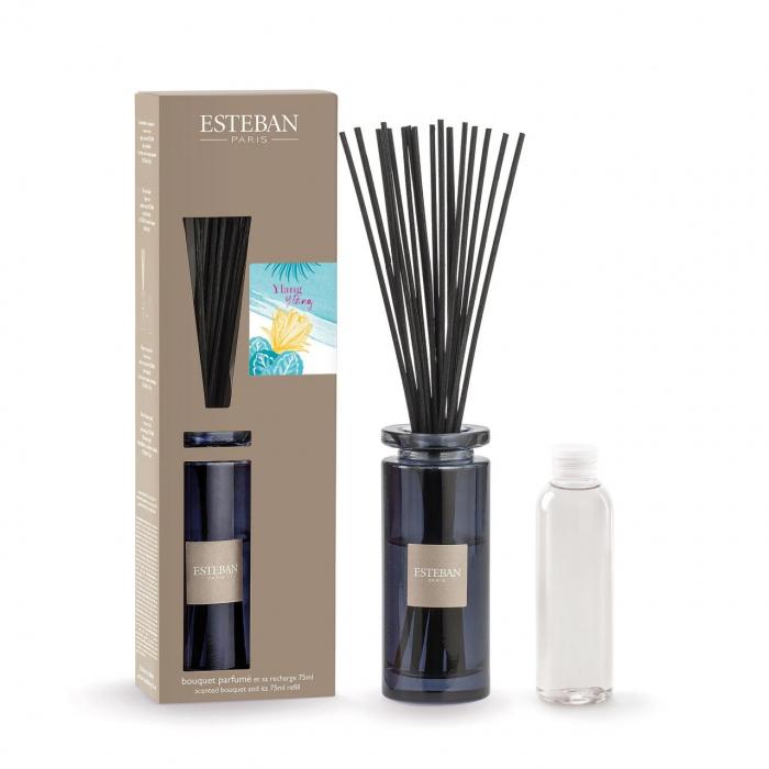 Difuzor Parfum Ylang Ylang&Rezerva 75ml - Esteban Paris 0