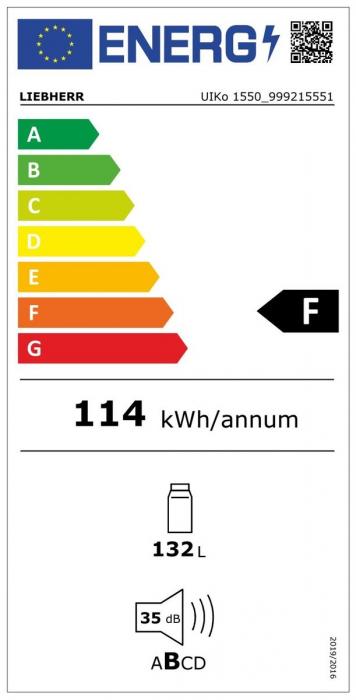 UIKo 1550 Premium Frigider subîncorporabil integrabil [4]