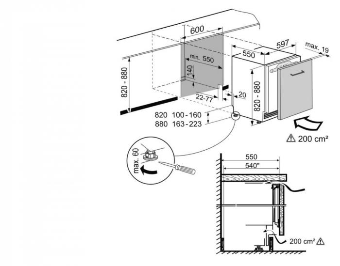 UIKo 1560 Premium Frigider subîncorporabil integrabil [6]