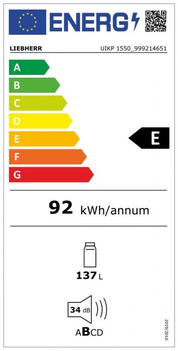 UIKP 1550 Premium Frigider subîncorporabil integrabil [5]