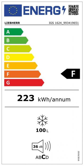 IGS 1624 Comfort Congelator încorporabil cu SmartFrost [3]