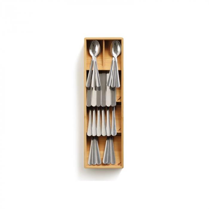 Organizator tacamuri din bambus - Joseph&Joseph 3