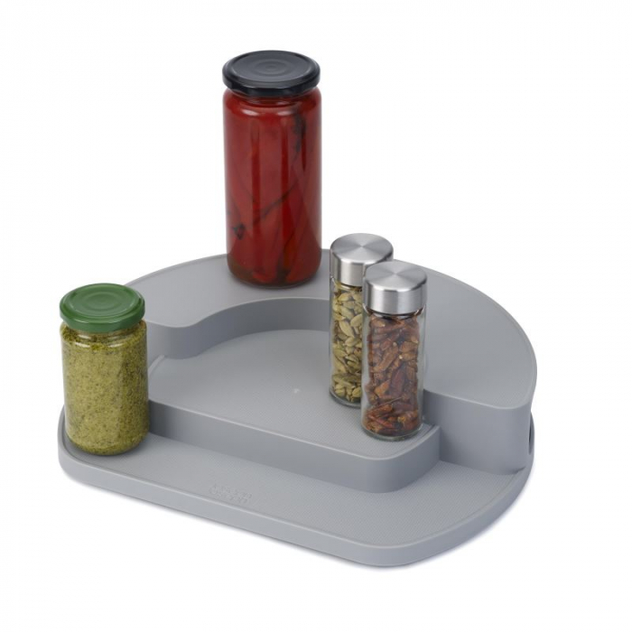 Organizator rotativ borcane & condimente Gri - Joseph&Joseph 2