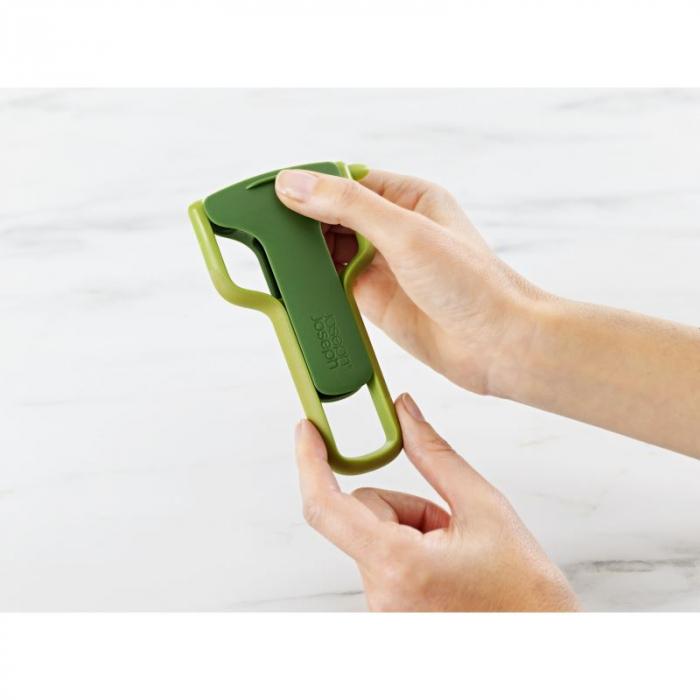 Curatitor Legume SafeStore cu protectie lama verde - Joseph&Joseph [0]