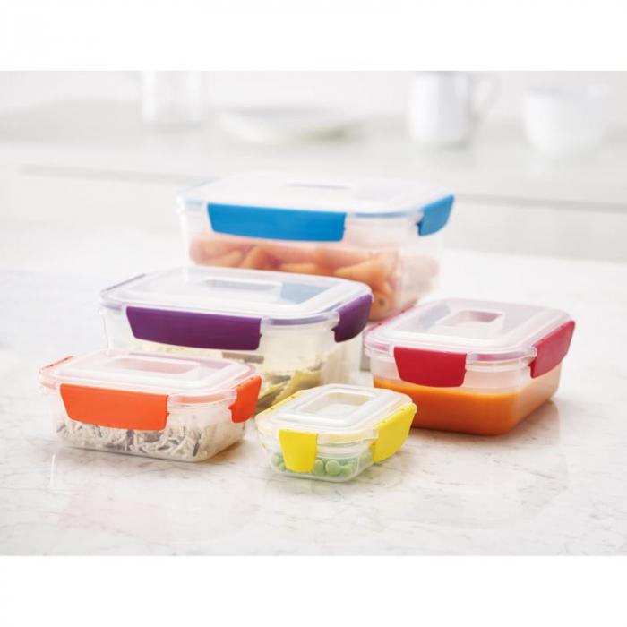 Set 5 cutii depozitare Nest Lock Multicolor - Joseph&Joseph 1