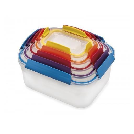 Set 5 cutii depozitare Nest Lock Multicolor - Joseph&Joseph 0