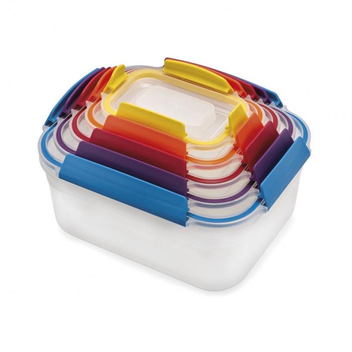Set 5 cutii depozitare Nest Lock Multicolor - Joseph&Joseph 5