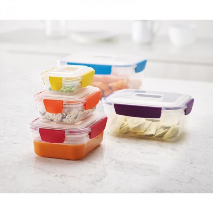 Set 5 cutii depozitare Nest Lock Multicolor - Joseph&Joseph 2