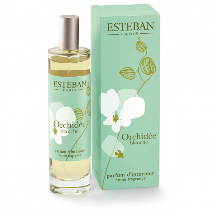 Spray Camera 100ml Orchidee Blanche - Esteban Paris 0