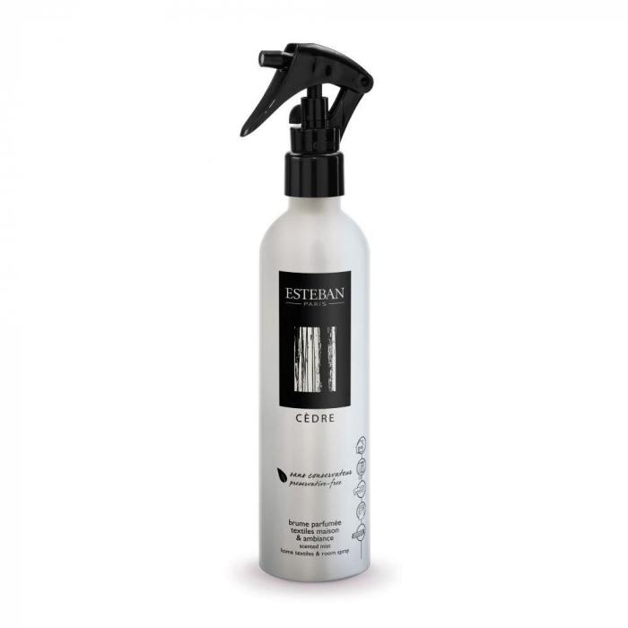 Spray Camera&Textile 250ml Cedre - Esteban Paris 0