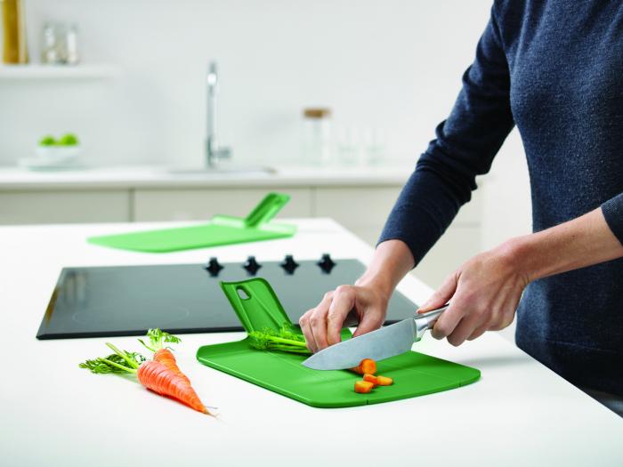 Tocator Chop2Pot Pliabil Plus L. Verde - Joseph&Joseph 1